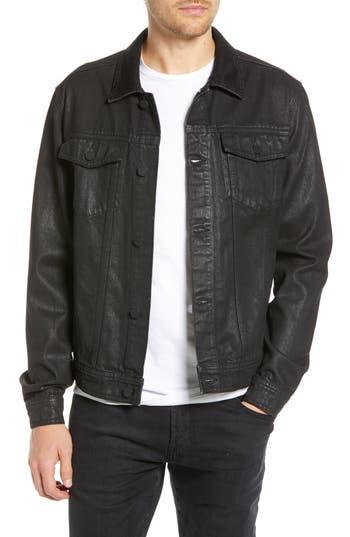 BLANKNYC Coated Denim Jacket