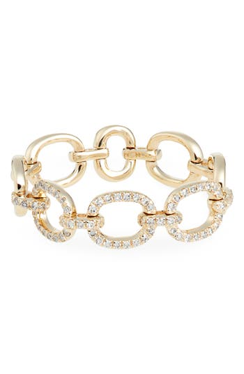 EF COLLECTION Flexible Chain Link Diamond Ring