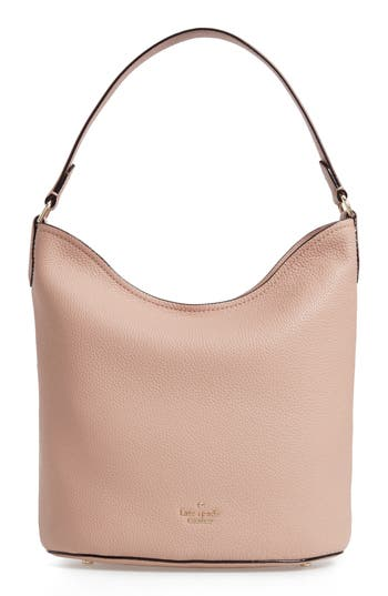 kate spade new york jackson street - rubie pebbled leather hobo