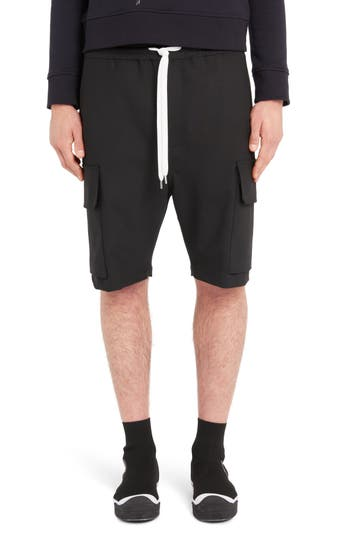Neil Barrett Tapered Cargo Shorts