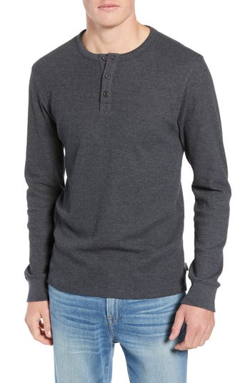 FRAME Slim Fit Long Sleeve Henley