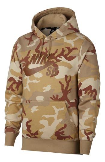 Nike SB Icon Camo Hoodie