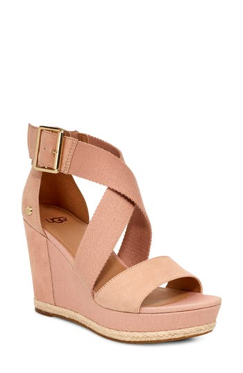 UGG® Calla Wedge Sandal
