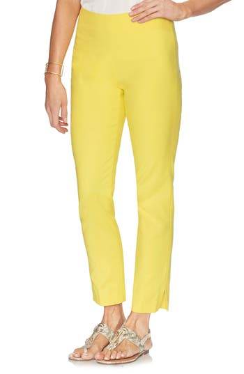 Vince Camuto Double Weave Straight Leg Pants