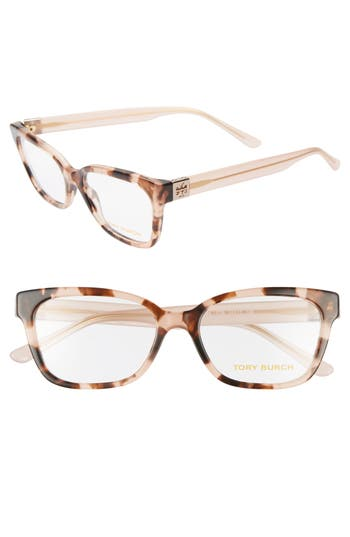 Tory Burch 52mm Square Optical Glasses