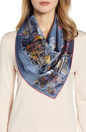 Longchamp Promenade Silk Scarf
