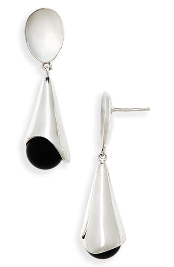 Sophie Buhai Anna Onyx Earrings