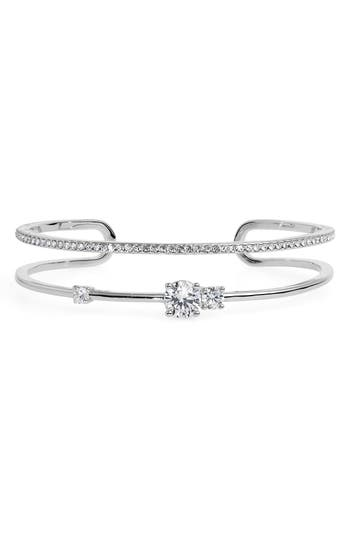 Nordstrom Double Row Pavé Cuff