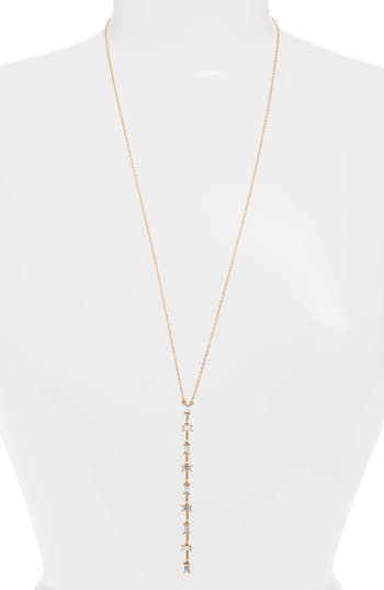 Sole Society Y-Necklace