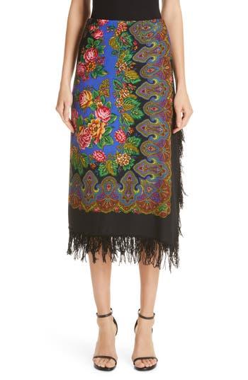 Vetements Scarf Skirt