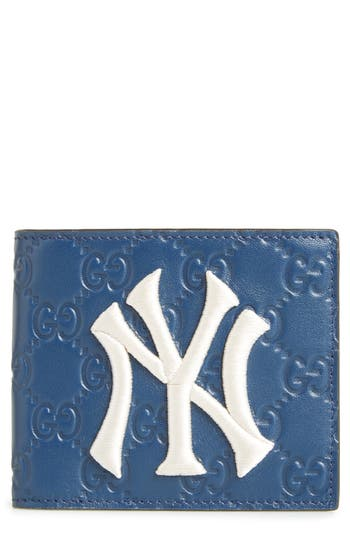 Gucci New York Yankees Leather Wallet
