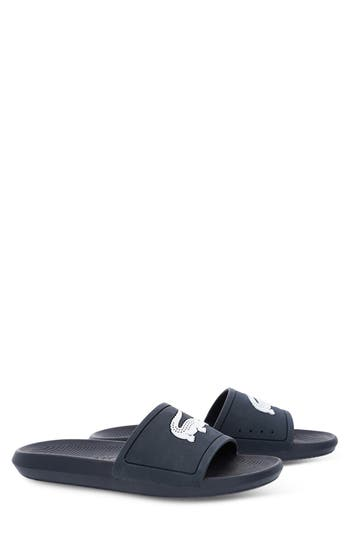 Lacoste Croco Slide Sandal