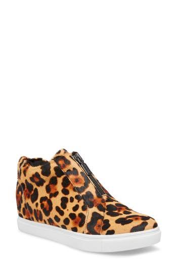 Blondo Glenda Waterproof Genuine Calf Hair Sneaker Bootie