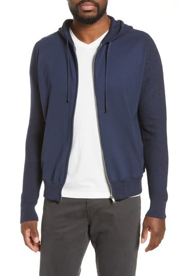 Zachary Prell Cedarhurst Hooded Zip Sweater