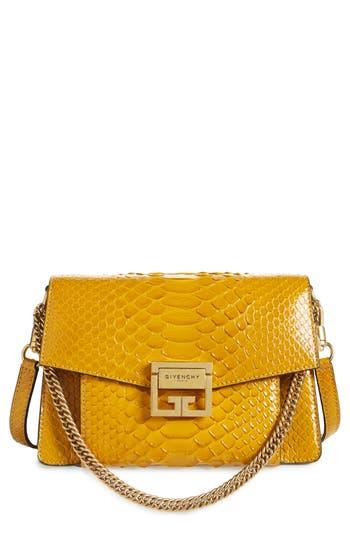 Givenchy Small GV3 Genuine Python Shoulder Bag