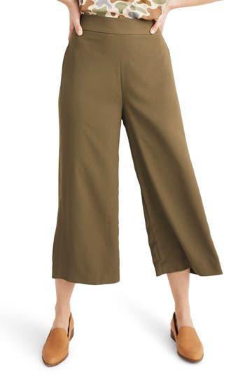 Madewell Huston Pull-On Crop Pants