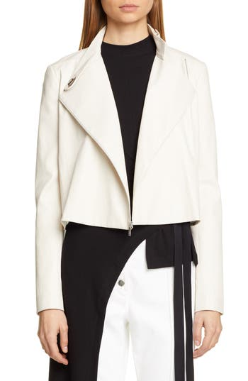 Rosetta Getty Leather Biker Jacket