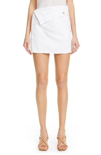 Jacquemus Le Mini Jupe En Jean Denim Miniskirt