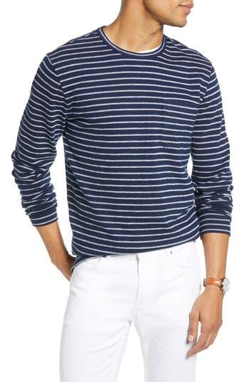 1901 Stripe Cotton Blend Sweater