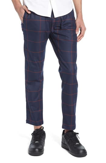 Topman Windowpane Check Jogger Pants