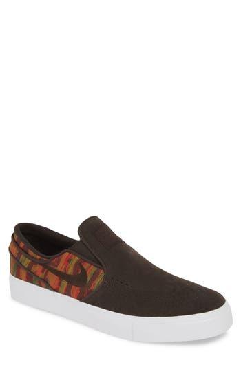Nike 'SB Zoom Stefan Janoski' Slip-On Premium Sneaker