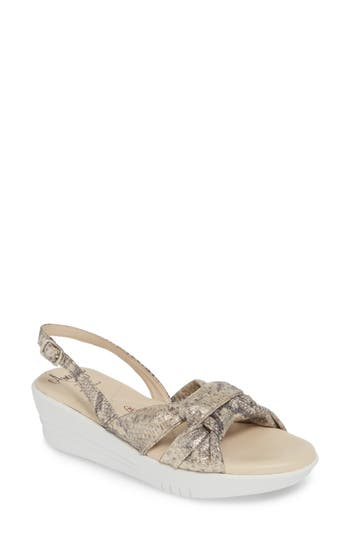 Amalfi by Rangoni Gioconda Slingback Wedge Sandal (Women)