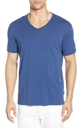 John Varvatos Star USA Miles Slub Knit V-Neck T-Shirt