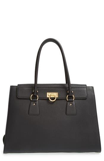 Salvatore Ferragamo Large Leather Tote -