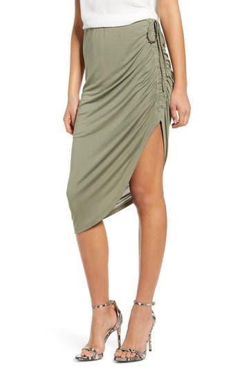 Heartloom Stella Ruched Asymmetrical Skirt