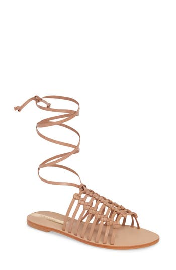 Kaanas Porto Alegre Multi Knot Lace-Up Sandal (Women)