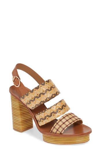 Tory Burch Patos Slingback Platform Sandal (Women)