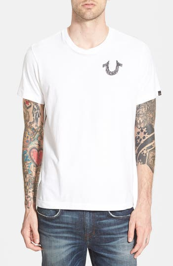 True Religion Brand Jeans Crafted With Pride Graphic T-Shirt, White