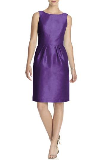 Alfred Sung Boatneck Sheath Dress