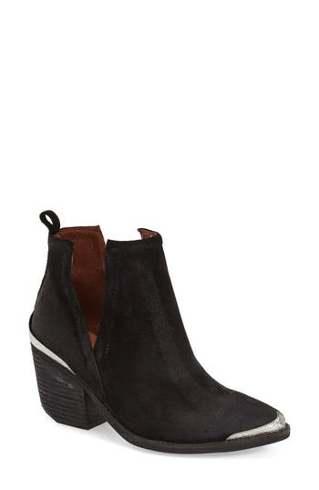 Jeffrey Campbell Cromwell Cutout Western Boot, Black