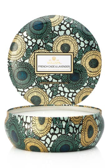 Voluspa Japonica French Cade Lavender Three-Wick Candle