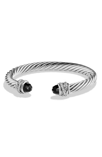 Women's David Yurman 'Crossover' Bracelet With Diamonds