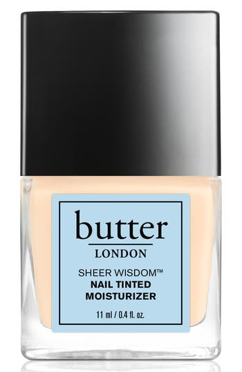 Butter London 'Sheer Wisdom(TM)' Nail Tinted Moisturizer - Fair