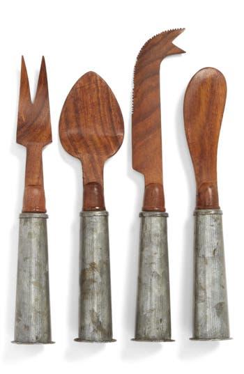 Thirstystone Wood & Galvanized Iron Cheese Knives