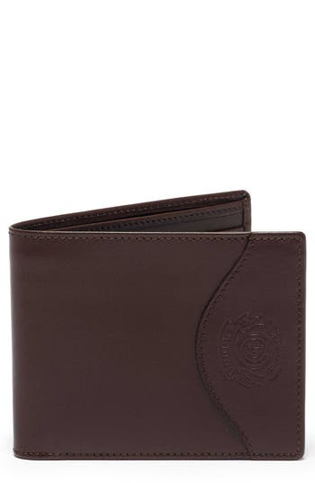 Ghurka Leather Wallet With Id Case - Brown