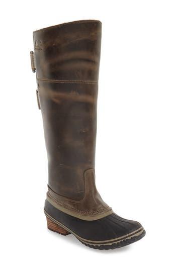 Women's Sorel 'Slimpack Ii' Waterproof Riding Boot, Size 5.5 M - Brown