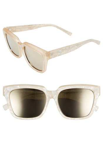 Women's Le Specs 'Edition Two' 55Mm Sunglasses - Navy/ Grey/ Black
