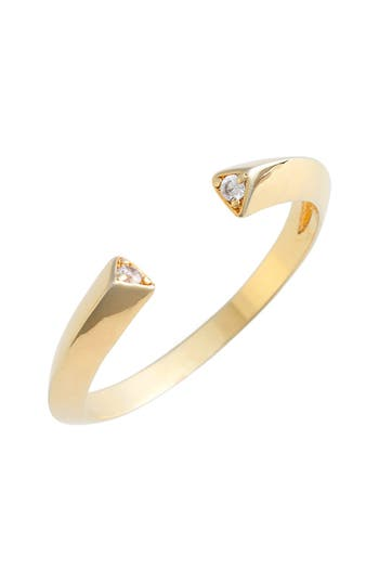 Women's Jules Smith Pavé Triangle Ring