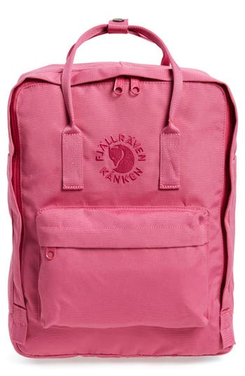 Fjallraven Re-Kanken Water Resistant Backpack - Pink at NORDSTROM.com