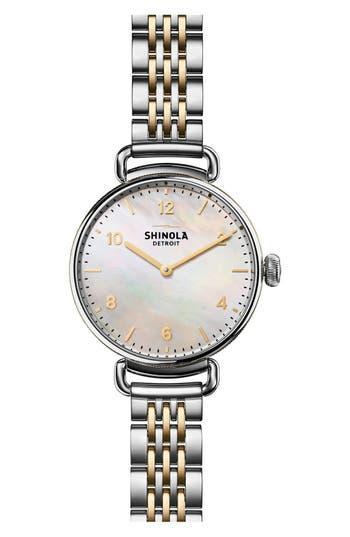 Shinola The Canfield Bracelet Watch, 32Mm