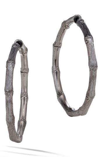 Women's John Hardy Bamboo Medium Hoop Earrings