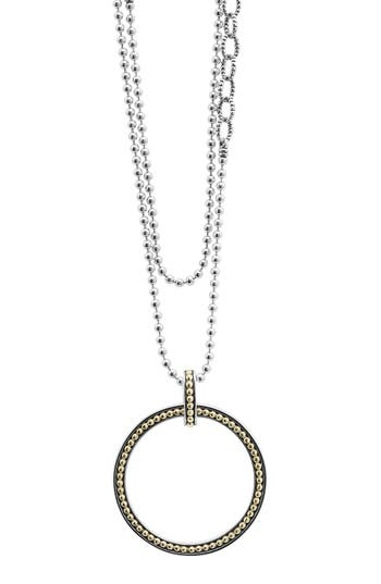 Women's Lagos Enso Long Pendant Necklace