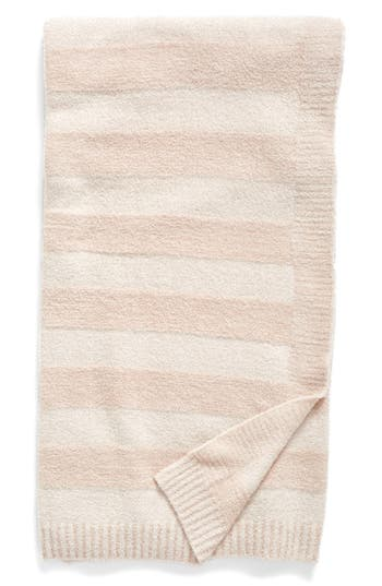 Barefoot Dreams Awning Stripe Throw, Size One Size - Pink