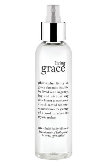 Philosophy 'Living Grace' Satin Finish Body Oil Mist