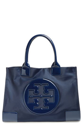 Tory Burch 'Ella' Nylon Tote - Blue