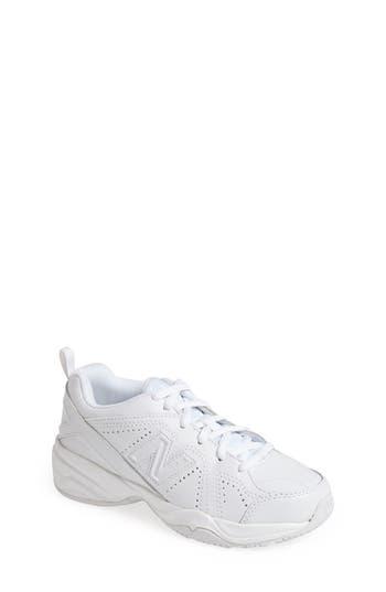 Boys New Balance Takedown 624V2 Sneaker Size 4.5 W  White